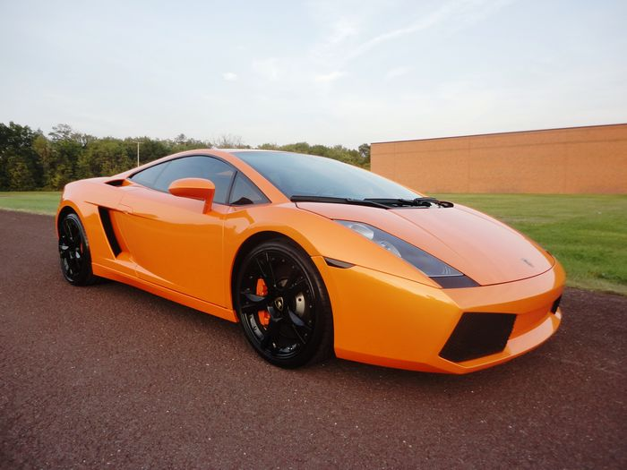 2004 orange lamborghini gallardo for sale lamborghini. Black Bedroom Furniture Sets. Home Design Ideas