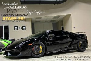 2011 Lamborghini Gallardo LP570 Superleggera UGR, $246,000