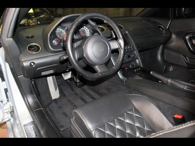 Interior of 04 Lamborghini Gallardo by Interstate Motorsport