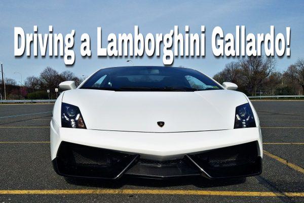 Driving a Lamborghini Gallardo LP560-4