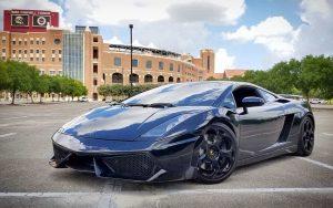 Mr. Elliott's Lamborghini Gallardo