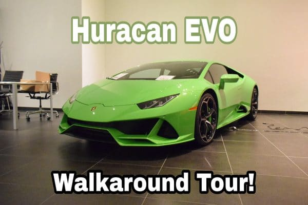 Huracan Evo Walkaround Tour
