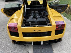 2008 Lamborghini Gallardo Superleggera Giallo Midas