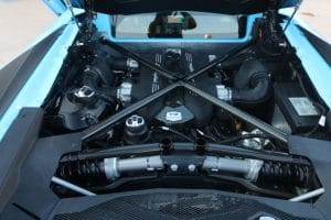 2017 Lamborghini Aventador LP750-4 Superveloce Blu Cephus