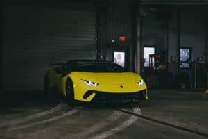 2019 Lamborghini Huracan Performante Spyder Giallo Tenerife Pearl